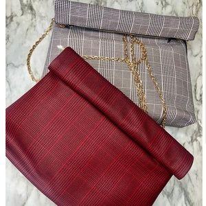 Handbags - Plaid purse